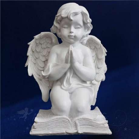ESTATUA ángel rezando sobre los 24CM PAPEL