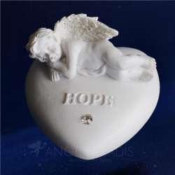 "piedra de Ángel ""HOPE"" esperanza"