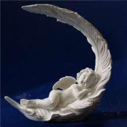 Grande Ángel con pluma 19CM
