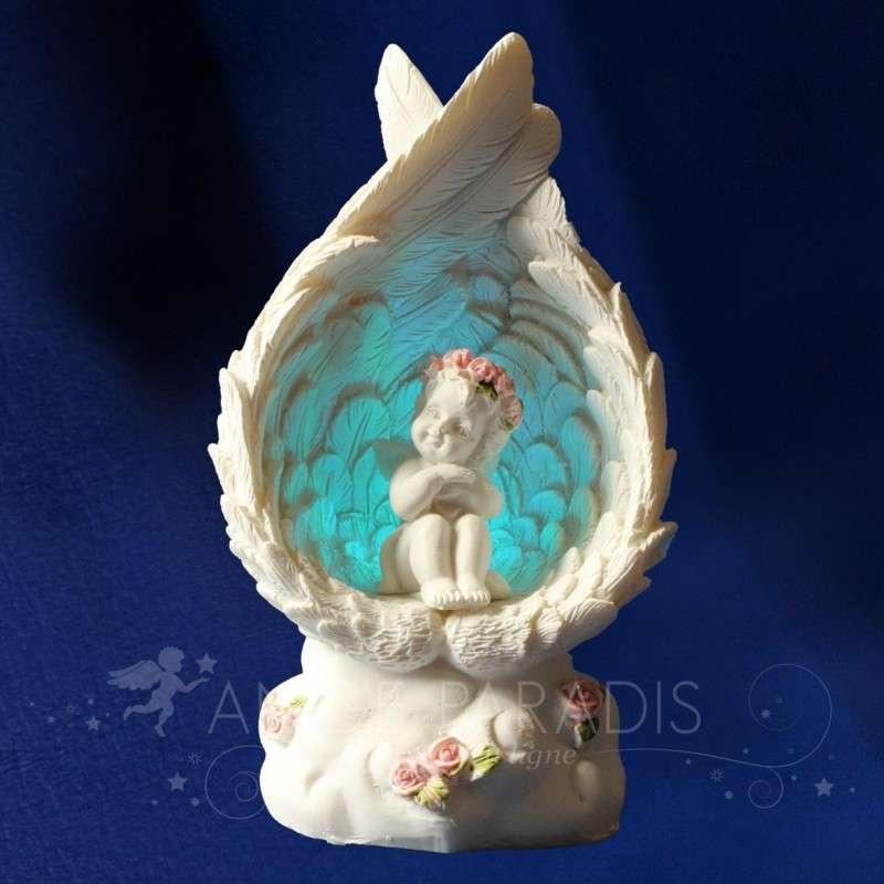 Figura ANGEL rosa de sabidura
