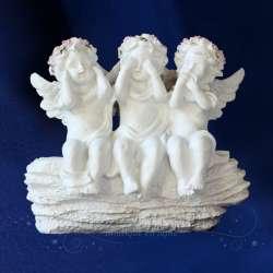 Figurita ángel de la Sabiduría Roca