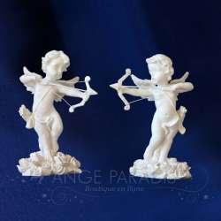 2 Figuras del ángel Cupid