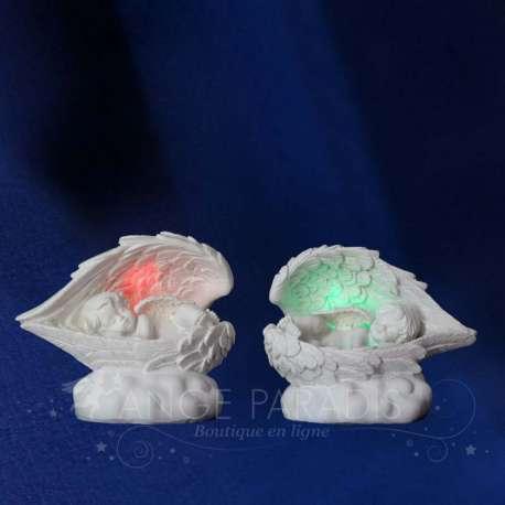 2 Figuritas ángeles de Luz Calmantes