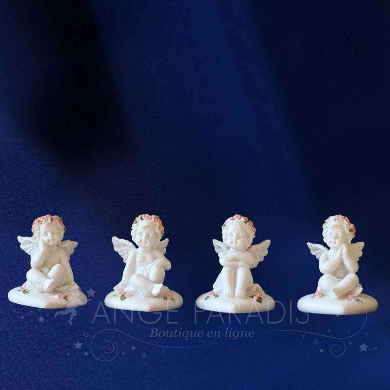 4 Figuras ángeles por la Mesa