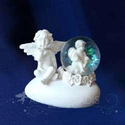 Bola de nieve Figura de ángel