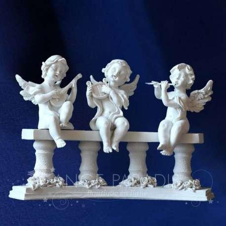 Figuritas ángeles Columnata Músico