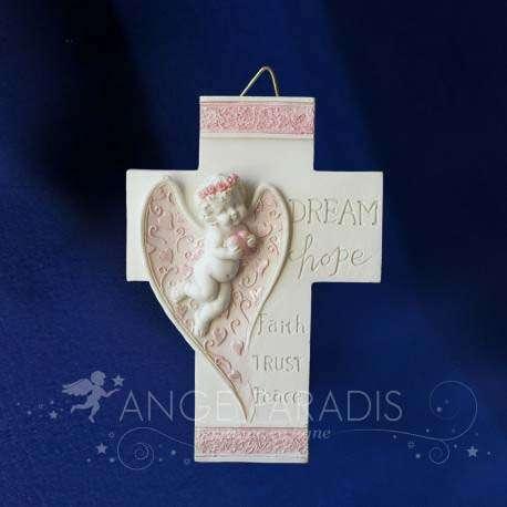 Cruz con ángel