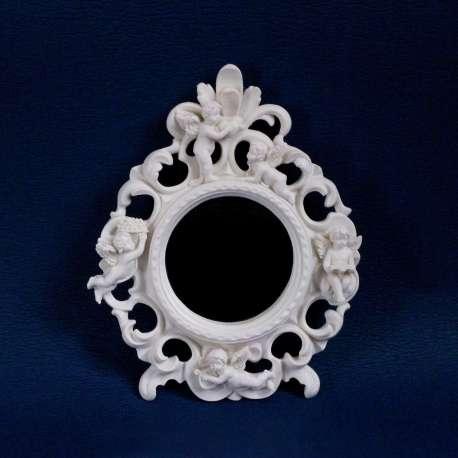 Ngel decoraci n espejo redondo con los ngeles la for Donde comprar espejos redondos