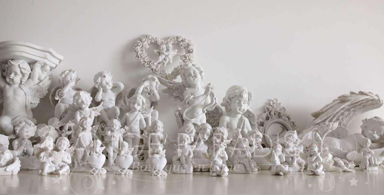 Tienda de angeles comprar estatuas angel de decora ion for Jardin querubines
